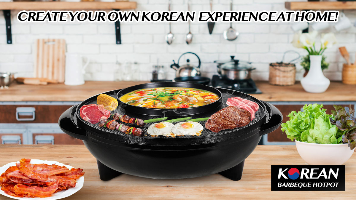 korean barbeque hotpot
